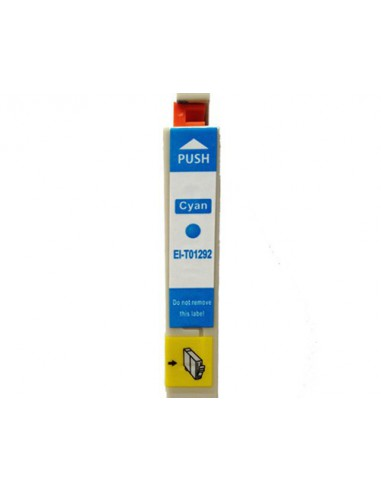 Patrone für Drucker Epson 1292 Cyan kompatibel