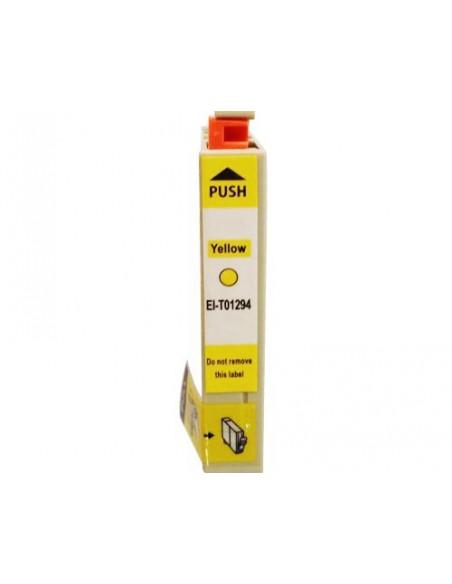 Cartucho para impresora Epson 1294 Amarilla compatible