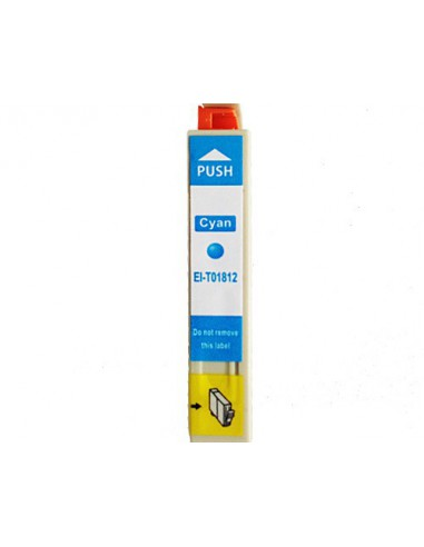 EPSON 1812 | 10ml (C) | Inkjet Comp. Reman. EI-T1812 0,68€