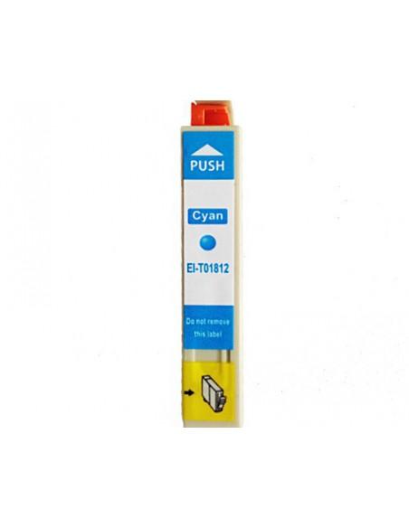 Cartridge for Printer Epson 1812 Cyan compatible