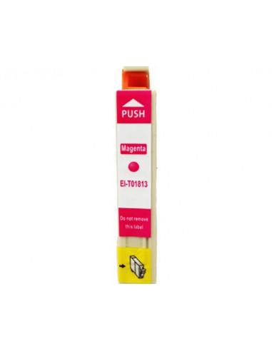 Cartucho para impresora Epson 1813 Magenta compatible