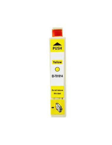 Patrone für Drucker Epson 1814 Gelb kompatibel