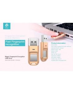 Chiavetta USB con Impronta Digitale di sicurezza 32gb DEFD32G570 79,18€