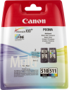 Cartuccia Originale Multipack CANON PG 510 CL 511 | 9ml (BK)