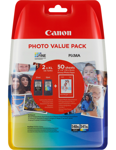 Cartuccia Originale Multipack CANON PG 540 XL CL 541 XL | 15ml