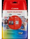 Cartuccia Originale Multipack CANON PG 540 XL CL 541 XL   15ml (BK) 15ml (CMY)   PG-540XL CL-541XL Photo Value Pack - Vendita...