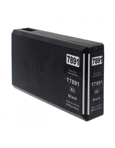 Cartouche pour imprimante Epson 7891 Noir compatible