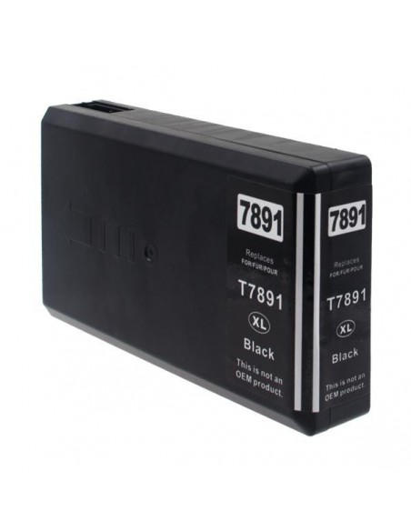 Cartucho para impresora Epson 7891 Negro compatible