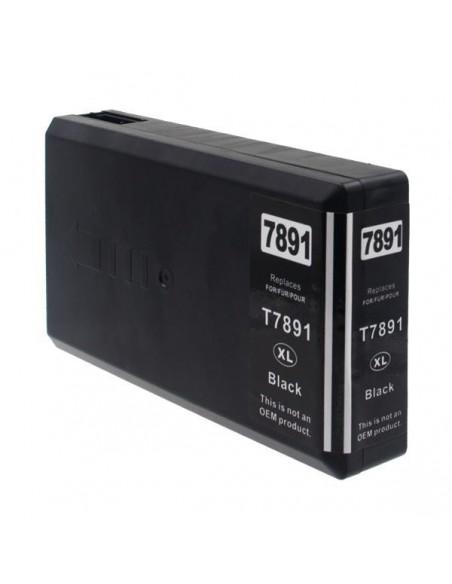Patrone für Drucker Epson 7891 Schwarz kompatibel