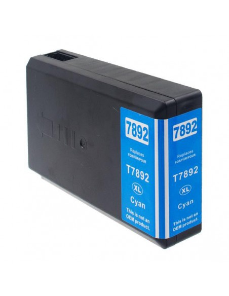 Cartucho para impresora Epson 7892 Cian compatible