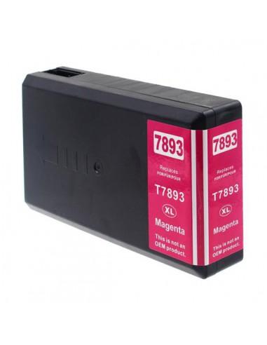 Cartucho para impresora Epson 7893 Magenta compatible
