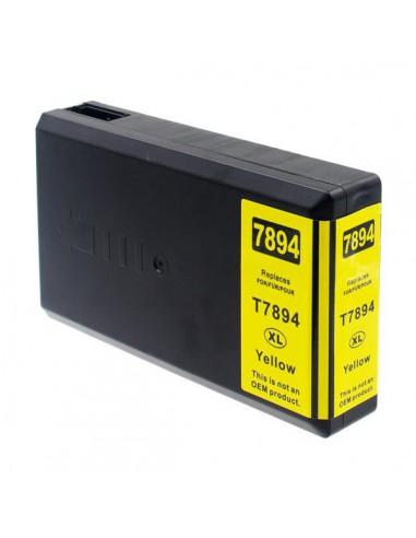 Patrone für Drucker Epson 7894 Gelb kompatibel