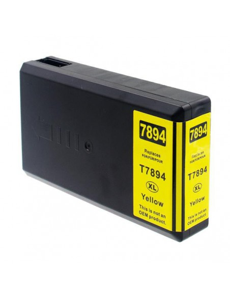 Cartridge for Printer Epson 7894 Yellow compatible