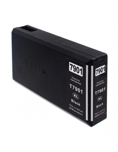 Patrone für Drucker Epson 7901 XL Schwarz kompatibel