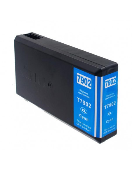 Cartridge for Printer Epson 7902 XL Cyan compatible