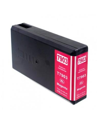 Patrone für Drucker Epson 7903 XL Magenta kompatibel