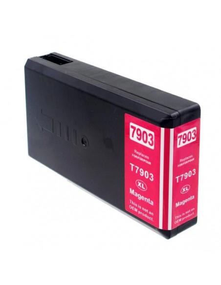Cartucho para impresora Epson 7903 XL Magenta compatible