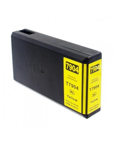 Patrone für Drucker Epson 7904 XL Gelb kompatibel