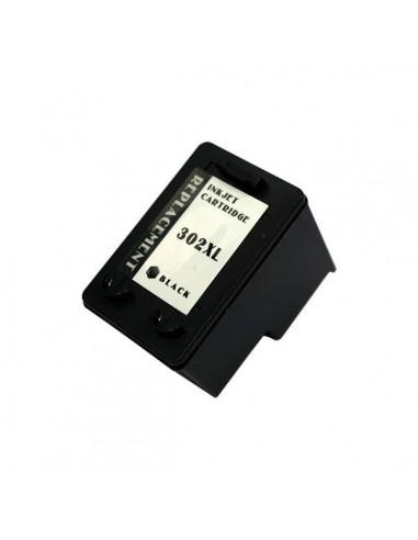 Patrone für Drucker Hp 302 XL (F6U68AE) Schwarz kompatibel