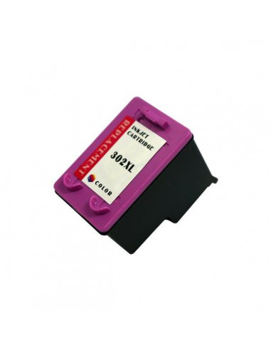 Patrone für Drucker Hp 302 XL (F6U67AE) Colori kompatibel