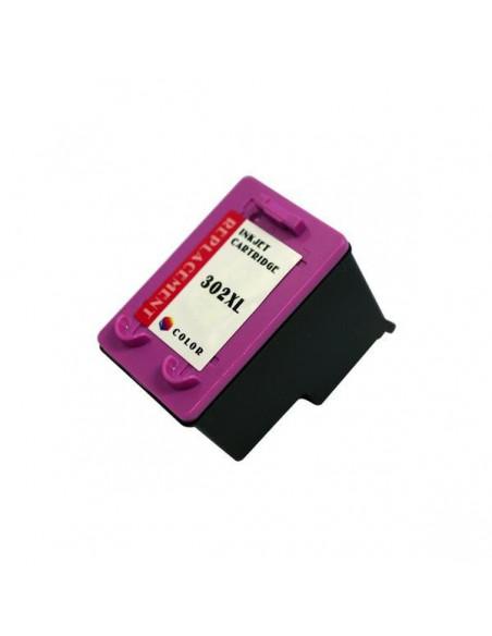 Cartucho para impresora Hp 302 XL (F6U67AE) Colori compatible