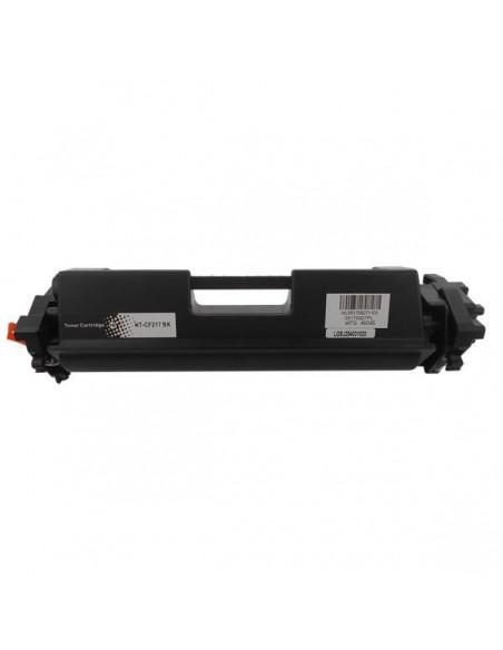 Toner pour imprimante Hp CF217A con Chip Noir compatible