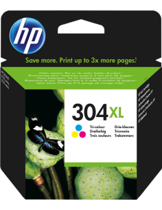 Cartuccia Originale HP 304 XL | 300PG (CMY) | HIO-HP304XLC 32,29 €