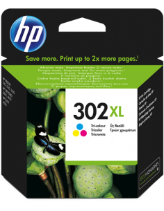 Cartuccia Originale HP 302 XL | 330PG (CMY) | HIO-HP302XLC 39,22 €