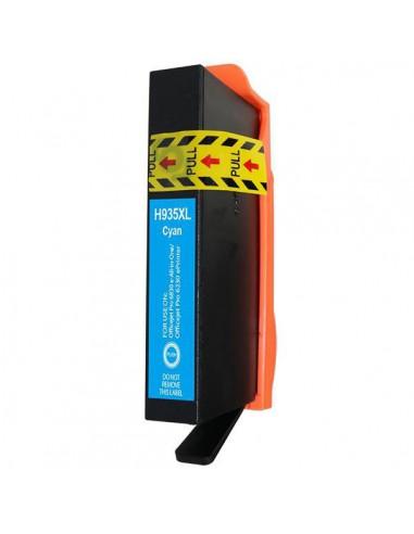Cartridge for Printer Hp 935 XL Cyan compatible