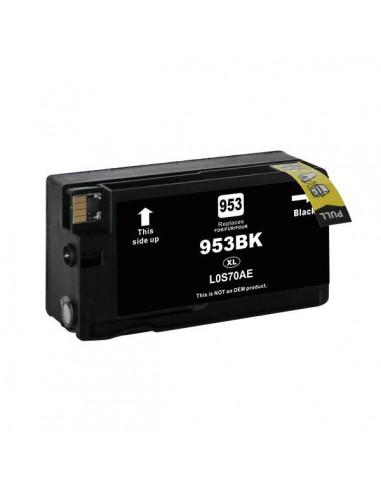 HP L0S70AE 953XL   50ml (BK)   Inkjet Comp. Reman. - Vendita online - Inkjet