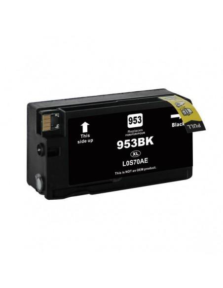 Patrone für Drucker Hp L0S70AE 953XL Schwarz kompatibel