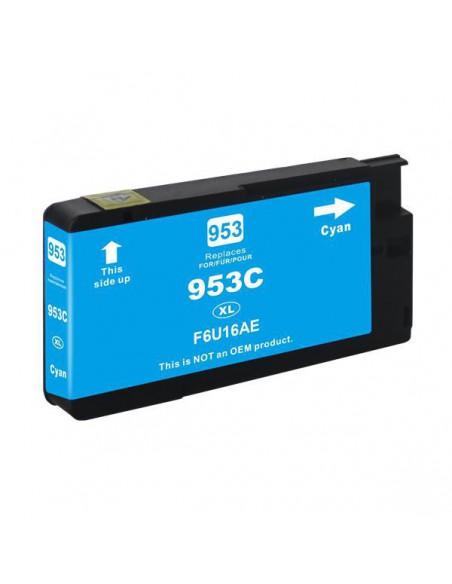 Cartuccia per Stampante Hp F6U16AE 953XL Ciano compatibile