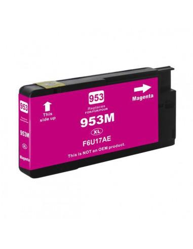 Cartucho para impresora Hp F6U17AE 953XL Magenta compatible