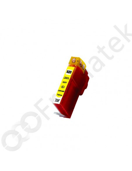 Cartridge for Printer Hp 920 XL Yellow compatible