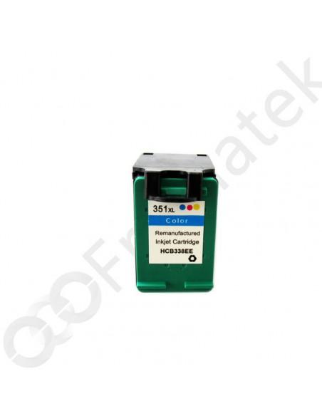 Cartridge for Printer Hp 351 XL (CB338E) Colori compatible