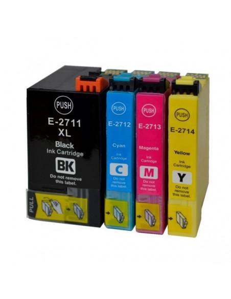 Patrone für Drucker Epson 2712 Cyan kompatibel