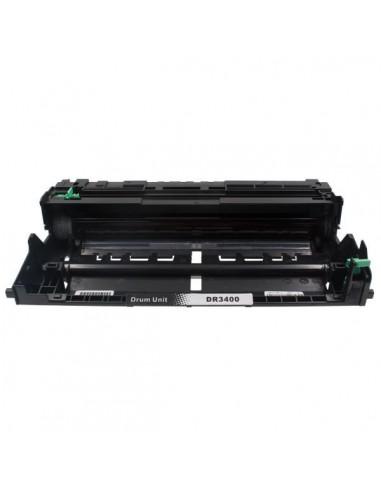 Tambor para impresora Brother DR 3400 Negro compatible