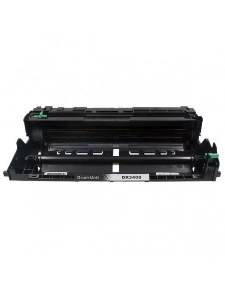 Drum für Drucker Brother DR 3400 Schwarz kompatibel