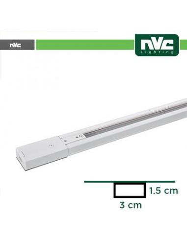 Binario Monofase - Lunghezza 1 Metro / Colore Bianco