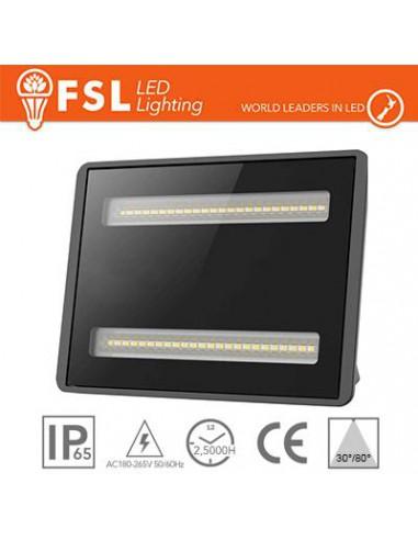 Proiettore LED per esterni 50W - 4000K 4750LM 30°/80° IP65