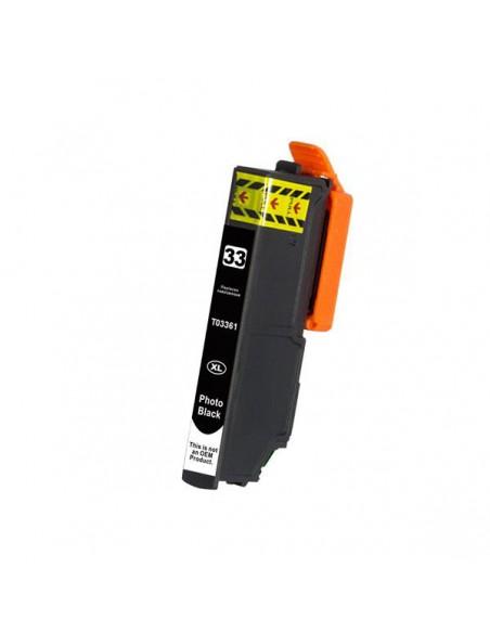 Cartridge for Printer Epson T3361 Nero Photo compatible