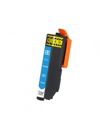 Patrone für Drucker Epson T3362 Cyan kompatibel