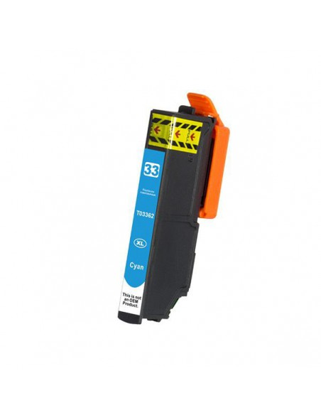 Cartridge for Printer Epson T3362 Cyan compatible