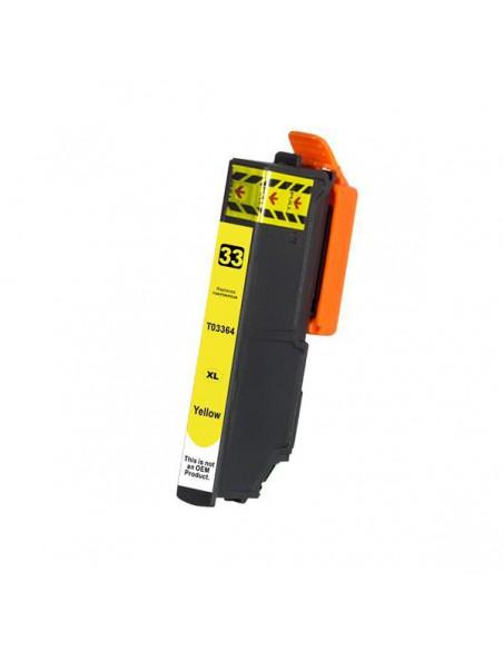Cartouche pour imprimante Epson T3364 Jaune compatible