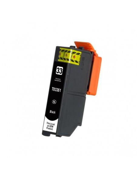 Cartridge for Printer Epson T3351 Black compatible