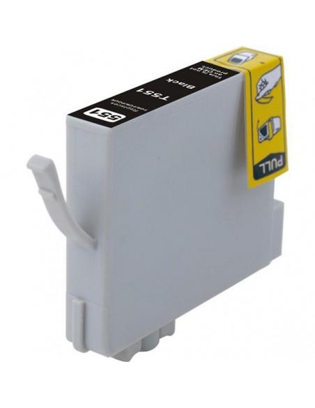Patrone für Drucker Epson 551 Schwarz kompatibel