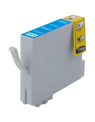 Patrone für Drucker Epson 552 Cyan kompatibel