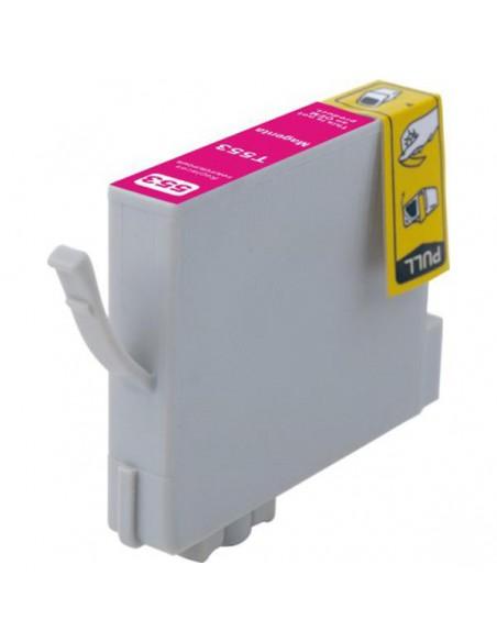 Patrone für Drucker Epson 553 Magenta kompatibel