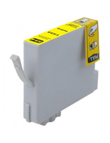 Cartridge for Printer Epson 554 Yellow compatible