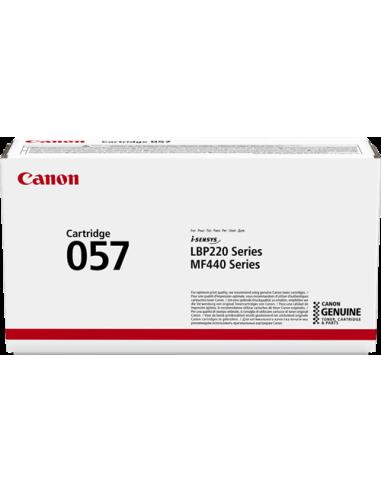 CANON 057 A   (3100 copie) (BK)   Toner Comp. Reman. Senza CHIP